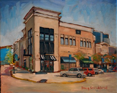 Doug's winning 3 hour 'quick painting' plein air entry!